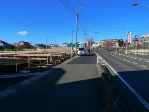 下鶴間新築タクトホーム前面道路1~7号棟