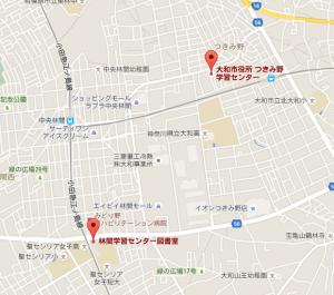 学習センター地図